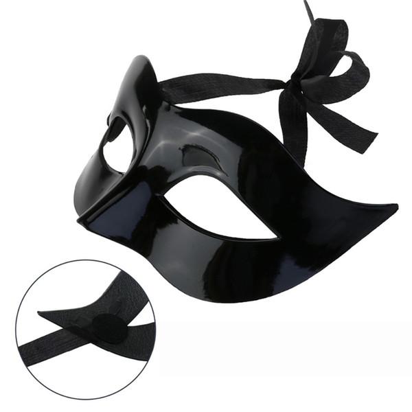 9 Couleur Femmes Homme Sexy Monsieur Gentilhomme Mascarade Masque Masque De Bal Halloween Mascarade Partie Cosplay Costume De Mariage Décoration Props
