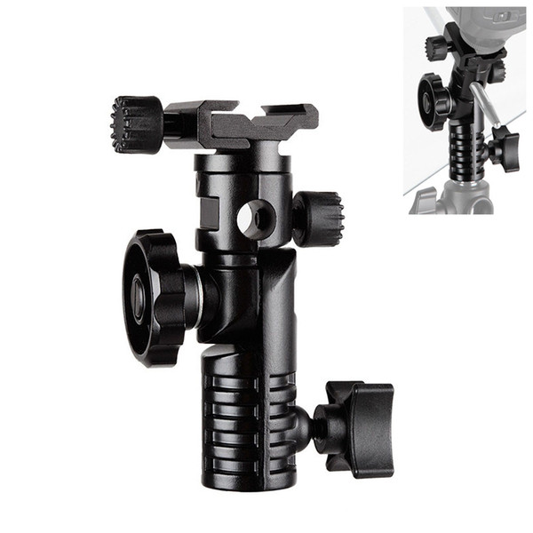 "Photo Studio Photo Studio kits HPUSN Universal Metal Mount Flash Hot Shoe Adapter 1/4\"" & 3/8\"" for Trigger Umbrella Holder Swivel Light"