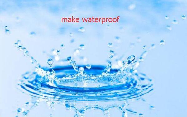 с водонепроницаемый