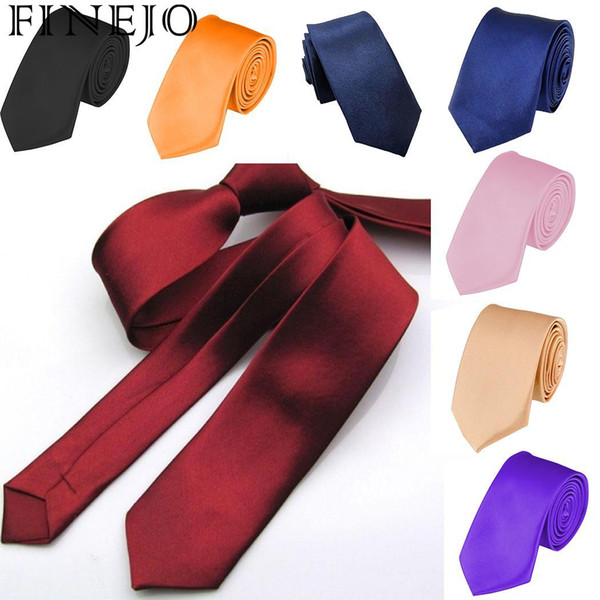 Causal inch Clothing 5 Narrow Accessories Party Solid Formal Office Fashion Party cm Men Wedding Wedding Tie 2 Wear etc