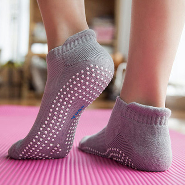 Adult Thick Cotton Yoga Pilates Socks Women Fitness Gym Fitness Anti-skid Breathable Camping Hiking Non Slip Sports Sock
