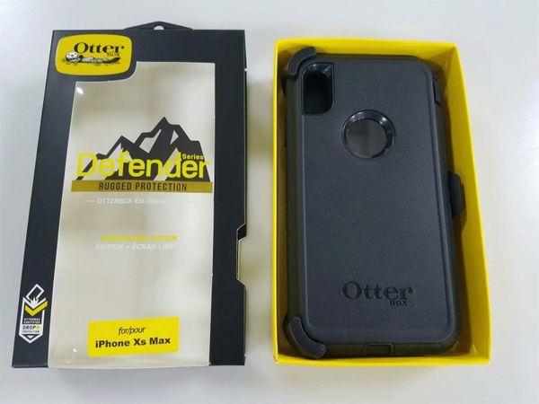 Nuova custodia Defneder Commuter Symmetry per Samsung Galaxy S10E S9 S10 note9 per iPhone XR XS MAX X 8 7 Plus Armatura in acciaio TPU Custodie per PC