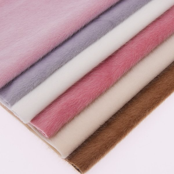 1 Yard Artificial Fur Flocking Leather Fabric For Patchwork Garment Decoration DIY Craft Bags Supplies Materials