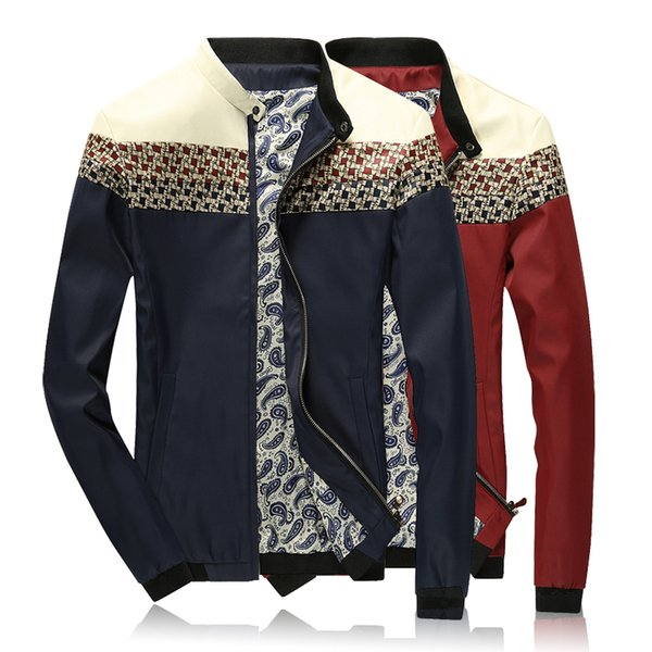 Large Size M-5XL Fashion Business Casual Trend Comfortable Men's Leather Jacket Men's Jacket Spring and Autumn Winter New Style