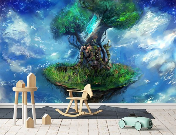 Self Adhesive 3d Castle In The Sky 8829273 Japan Anime Wall Paper Mural Wall Print Decal Murals Screensaver Wallpapers Screensavers And Wallpaper From