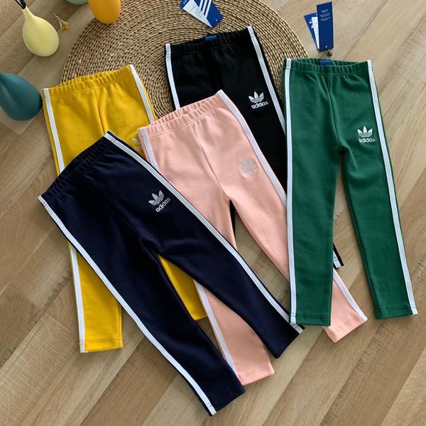 Erkekler kızlar Pantolon Boy Kalem Tozluklar M10930 için 2019 Sonbahar Çocuk Kot Elastik Bel Stretch Denim Giysiler Çocuk pantolonlar