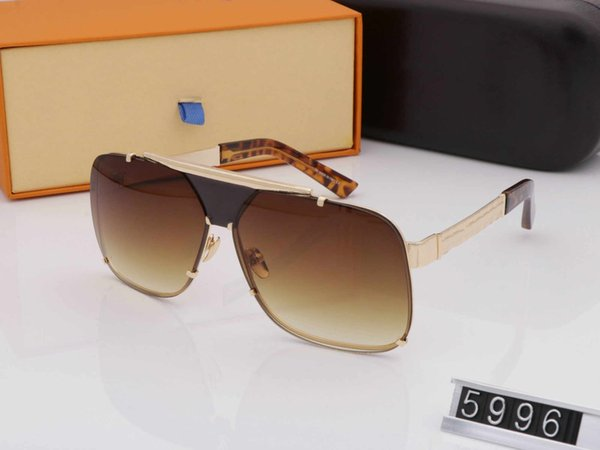 Retro Luxury men women Brand Name Designer Carter Wooden Men Sunglasses Maroon Wood Black Women Sunglass Unisex Holiday Shades 5996