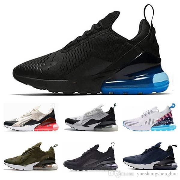 Acheter Nike Air Max 270 270s 27c Airmax 2019 TN Cushion Sneakers Sport Designer Casual Chaussures Formateur Parra Road Star BHM Fer Hommes Femmes