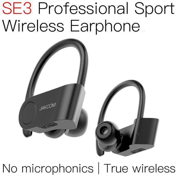 JAKCOM SE3 Esporte sem fio fone de ouvido Hot Venda em Fones de ouvido como esperança de resina pulseira de telefone celular fone de ouvido com fio