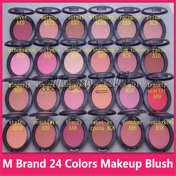 M Blush M MC MASC Пудра Shimmer Blush 24 цвета SHEERTONE BLUSH MARGIN PINCHME PINEKSWOON 6 г Косметика для лица Косме