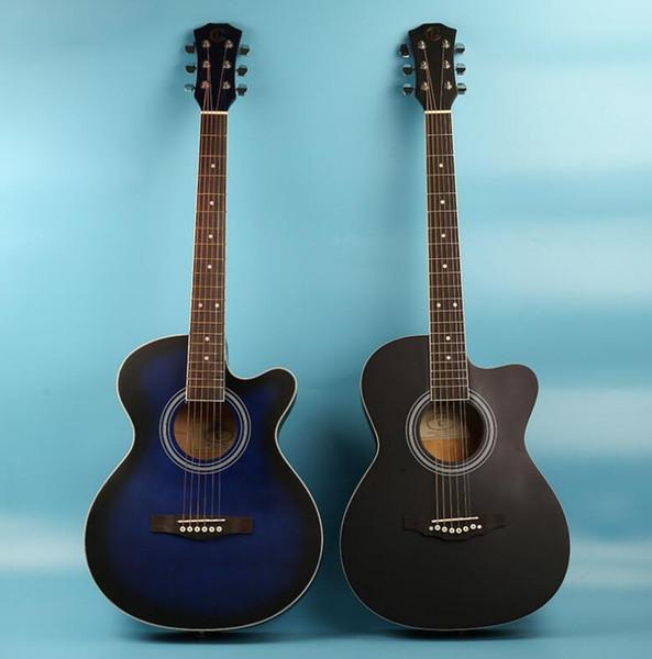 perfecta de 39 pulgadas guitarra acústica guitarra tilo adecuado para principiantes que practican fabricantes de pianos por mayor