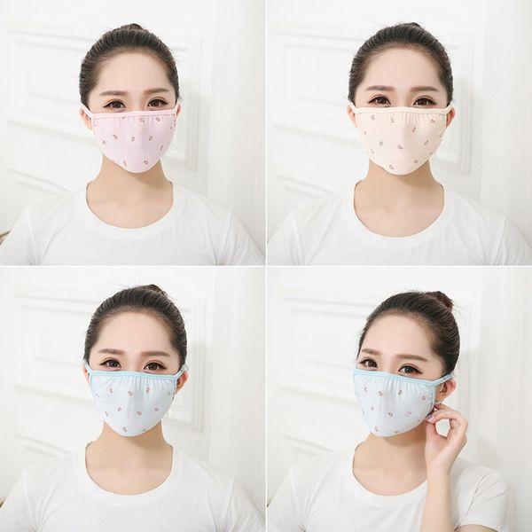 Ice Шелкового Рот маски дышащего здоровье Красота Солнцезащитная маски для лица средства личной гигиены Summer Thin Sunscreen