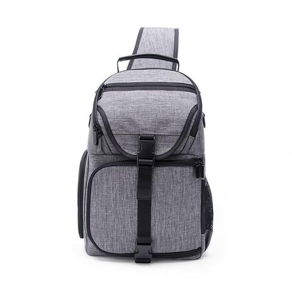 Appareil photo Sling Bag épaule Cross Case Digital Étanche W / Rain Cover Dslr Doux Hommes Femmes Sac Pour Canon Nikon Sony Dslr