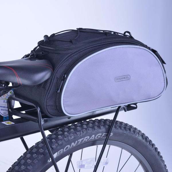 13L Bicycle Riding 600D Dacron Luggage Bag 14541 Black