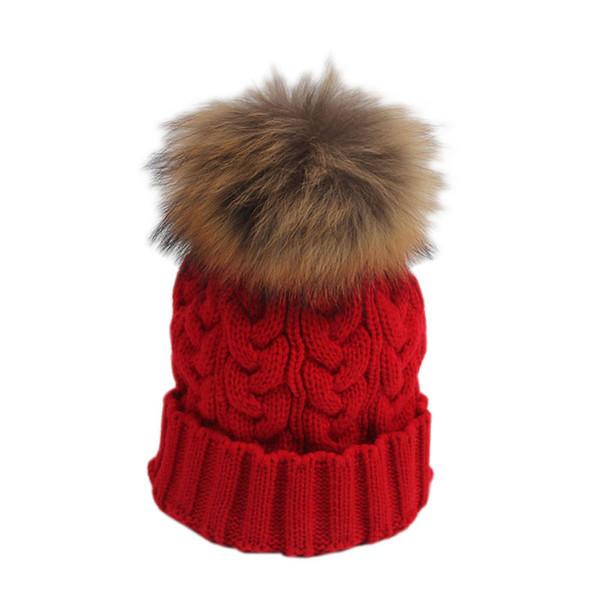 Frauen Korean Style Fashion Winter Hut Mädchen Nette Pompon Stricken Winter Outdoor Cap Weibliche Komfortable Warme Mützen