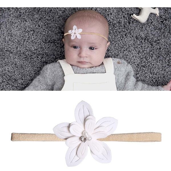 baby girl headbands Unicorn cotton ribbon jojo siwa white bows hair scrunchies baby turbans flower softball bands Headbands hairbows INS