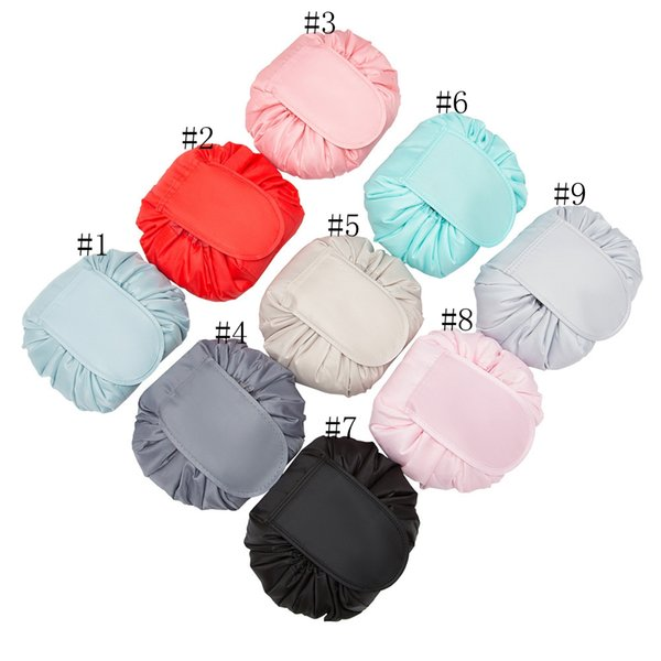 23styles Sac à cordonnet cosmétique femmes Lazy Sacs cosmétiques Organisateur maquillage Divers Stockage Voyage Pouch Sac de toilette sacs de lavage GGA3200-5