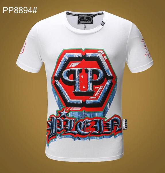 100% Cotton Luxury Designer Mens T Shirts Hip Hop Light Bulb Famous Logo Mens