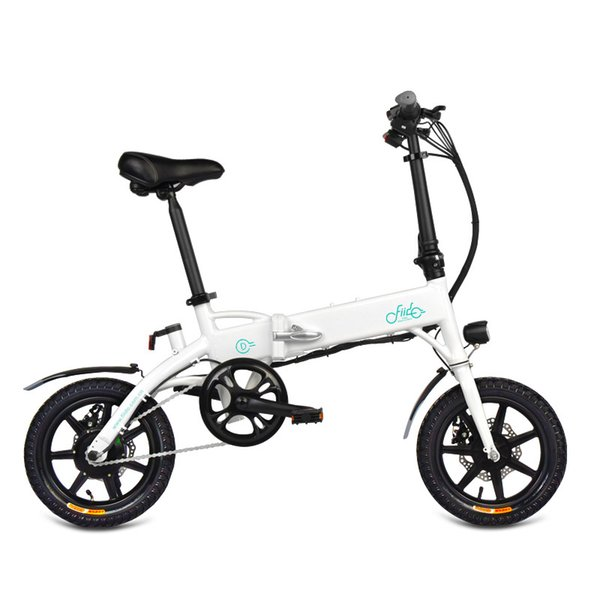 top popular Bike Folding Electric Light Bicycle Electrical Foldable Aluminum Alloy Moped E-bike 250W New Fiido D1 10.4Ah EU Free Shipping 2020