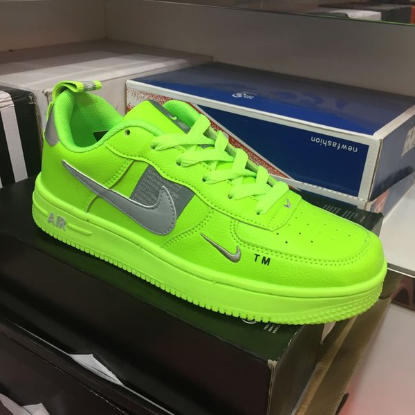 best selling Air Force No. 1 new color couple casual shoes chameleon joint night magic man laser reflective men and women shoes