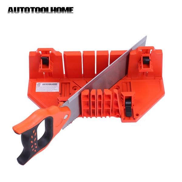"""Mitre Accessories Box 14 Mitre Saw Accessories Saw Box 14\"""" Ajustable Angle 22.5 45 90 Degree Fits Wood Cutting Woodworking"""