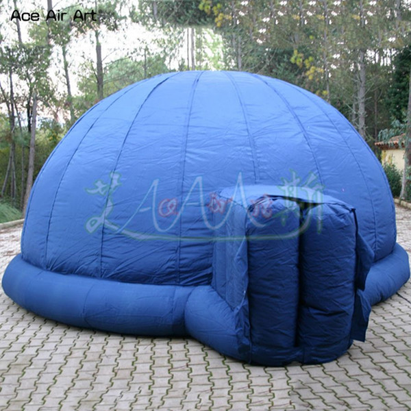 4m diameter portable igloo inflatable starlab,projection planetarium dome tent for Children astronomical events