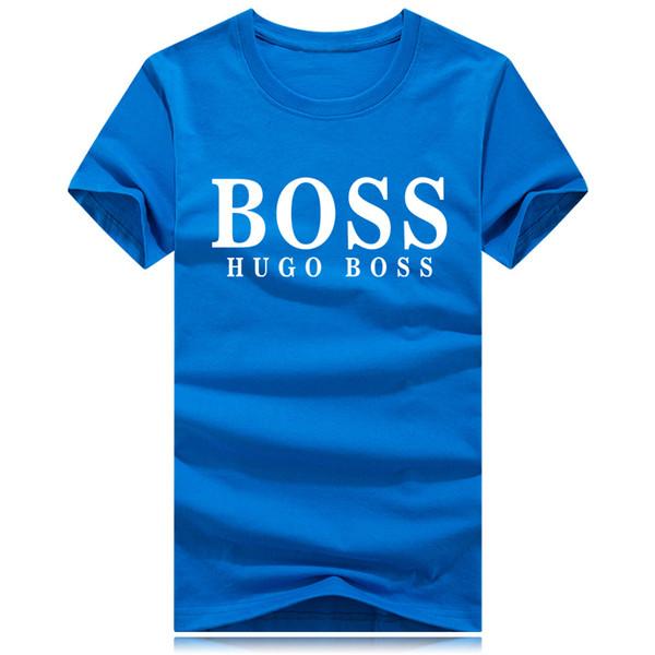 Vente chaude Marque De Mode Ras Du Cou T-shirt D'été Nouveaux Hommes Femmes Tee Hip Hop Casual T-shirt 9 Couleurs