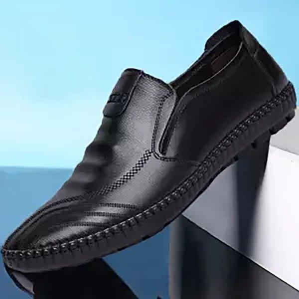 2019 uomini casual scarpe traspiranti scarpe casual da uomo in vera pelle di guida
