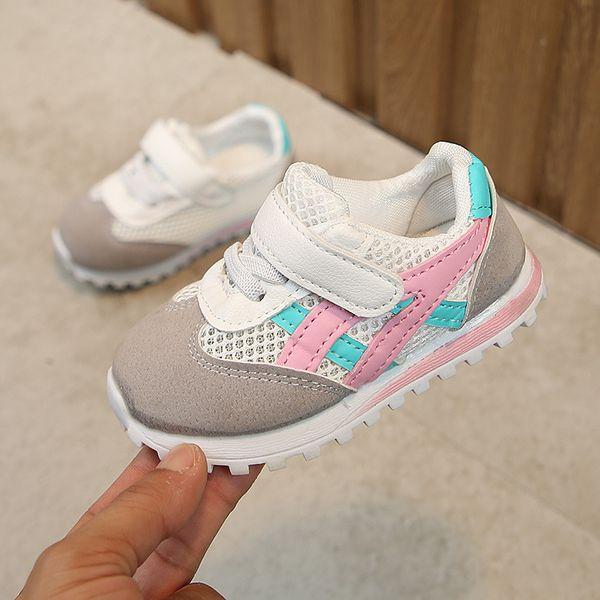 Розовые чистые туфли