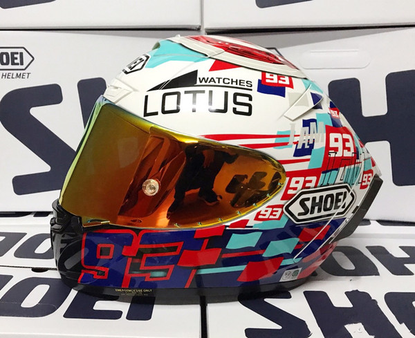 best selling Full Face X14 93 marquez Lotus Motorcycle Helmet anti-fog visor Man Riding Car motocross racing motorbike helmet-NOT-ORIGINAL-helmet