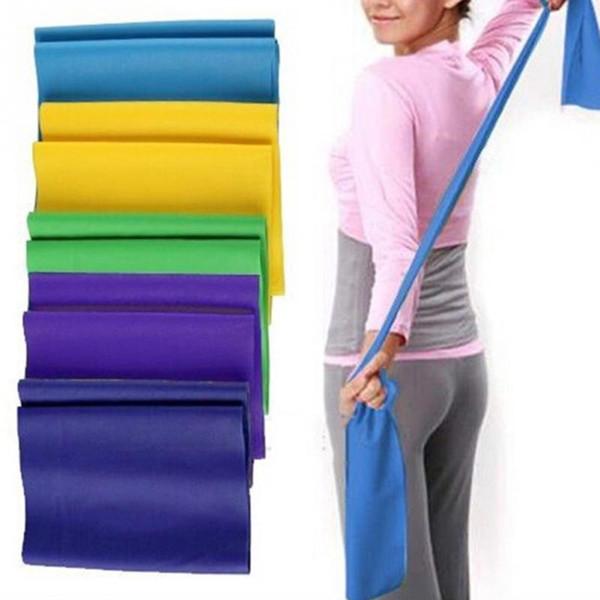 Práctica de yoga Correas elásticas Ejercicio físico Tensión Ejercicio Deporte Estiramiento Cinta Correa Tire de la correa Bandas de resistencia de yoga 120 cm