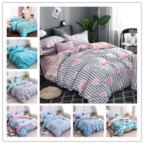 3D Moderne Betten setzen buntes Muster Druck Bettbezug Voll Twin Einzel Größe Bettwäsche-Sets