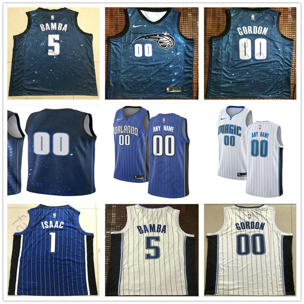 more photos a3ddf 0d8c6 2019 Printed Orlando 21 Timofey Mozgov 31 Terrence Ross 14 D.J. Augustin 22  Jerian Grant 2 Jarell Martin 24 Khem Birch 25 Wes Iwundu Jersey From ...