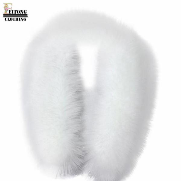 Vente en gros- FEITONG bufandas mujer 2016 écharpes et étoles hiver chaud mode col de fourrure de raton laveur écharpe col châle Wrap étoles en fausse fourrure