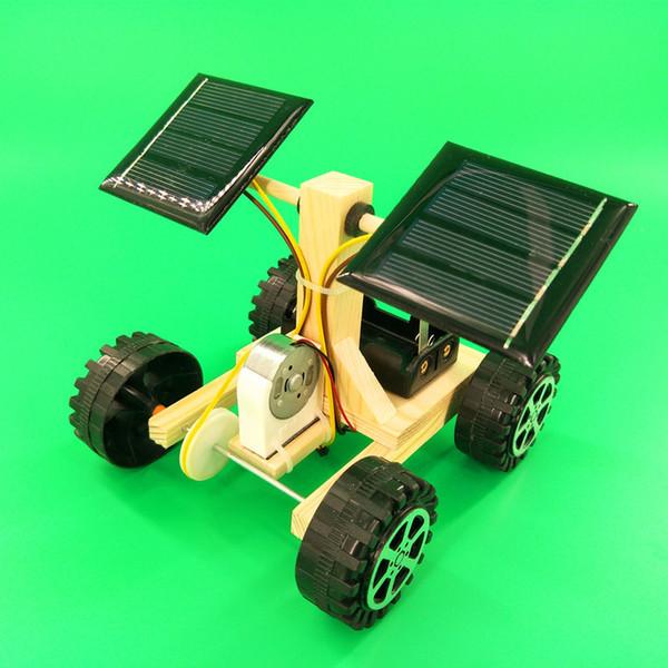 DIY Technologie kleine Produktion Solar-Raum Mond Rover wissenschaftliches Experiment Kinder Montag Modellmaterialien