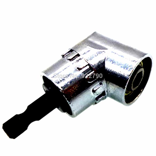 105 Degrees 1/4in Hex Screwdriver Drill Magnetic Angle Extension Adjustable Hex Drill Turning Bit Driver