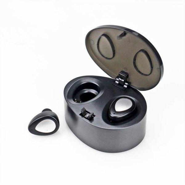 TWS K2 Drahtlose Bluetooth Ohrhörer Handy Kopfhörer Stereo Headset Dual Twins Ohrhörer Bass Mic Doppel Kopfhörer für iphone wholeale