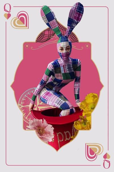 Рождество сексуального большие шлют танцы костюма женщин девушки прохладно Боди-участник шоу танец носит