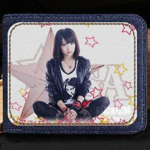 Lisa olive wallet Risa Oribe purse Oath Sign star short cash note case Money notecase Leather jean burse bag Card holders