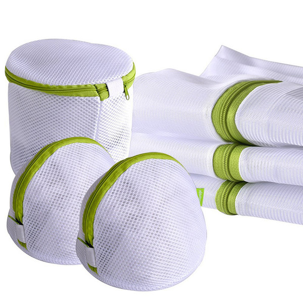 Enipate 6pcs / set Cordon Sous-vêtements Produits Sacs Utile Mesh Net Bra Lavage Zipper Sac À Linge C19041701