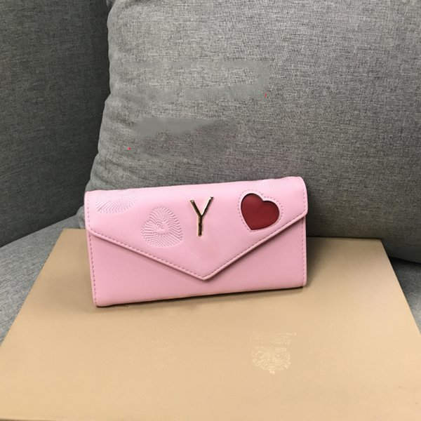 Pink sugao luxury women wallet designer purse for lady lovely and clearly clutch bags famous brand top quality wallet for girl fashion purse