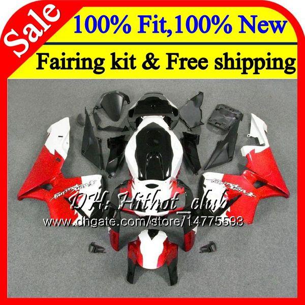 Injection Body Tank For Honda Cbr 600rr Red Black Cbr600 Rr F5 05 06 59ht22 Cbr600rr 05 Cbr600f5 Cbr 600 Rr F5 2005 2006 Fairing Bodywork Motorcycle