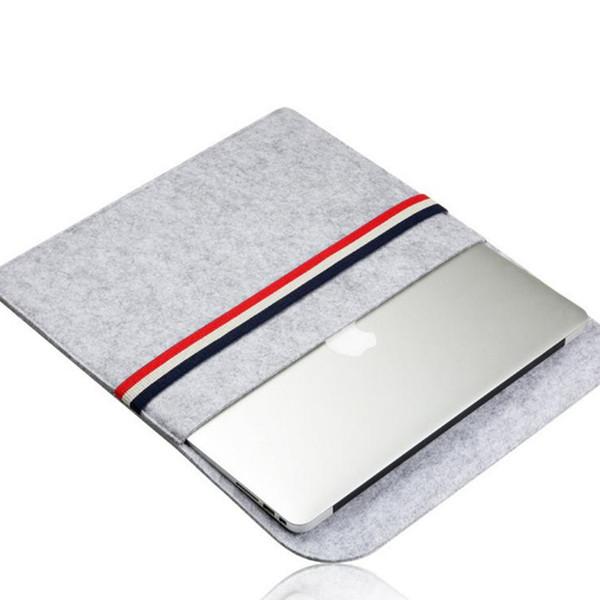Fieltro multifuncional portátil bolsa de organizador de almacenamiento organizador de almacenamiento compartimiento teléfono inteligente bolsa de almacenamiento de control remoto bolsa de archivo T2I5154