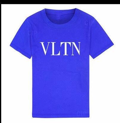 2019 new Luxury summe Hot brand 1-8years old Baby boys girls T-shirts r shirt Tops cotton children Tees kids Clothing t shirts bocrere S2