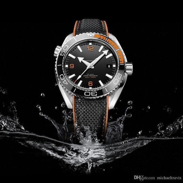 Watch Black Dial High Quality Automatic Movement Mechanical Original Strap Sapphire Watches