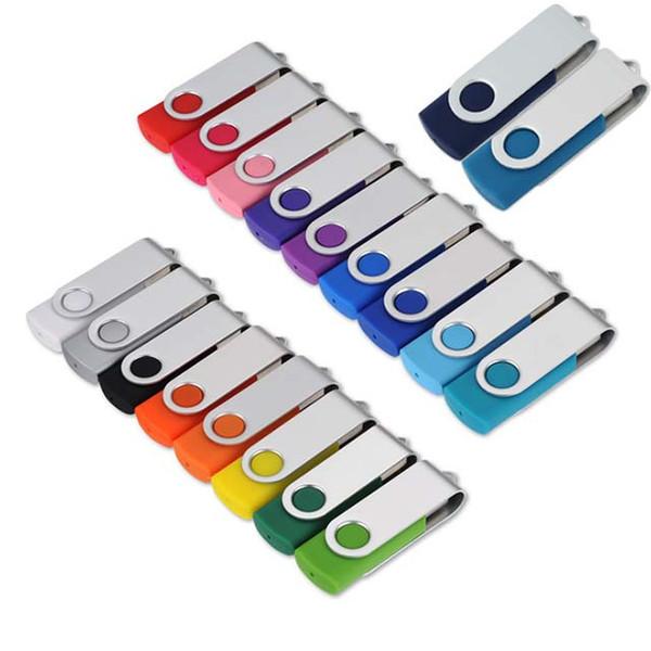 16GB pas cher en vrac promotionnel personnalisé clé USB clé USB pour cadeau d'affaires promo de fournisseur de la Chine