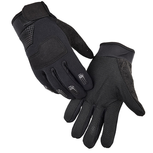 2pcs Outdoor Camping hunting Tactical Gloves Sports Training Gloves Hiking cycling Full Finger