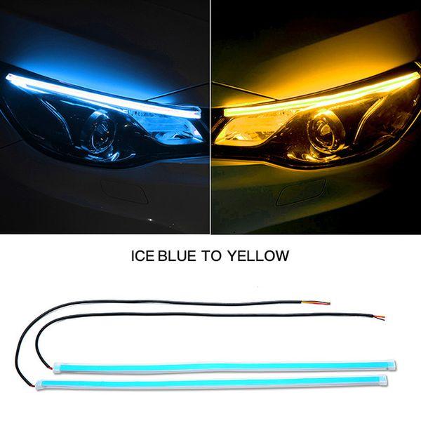 ICE синий на желтом