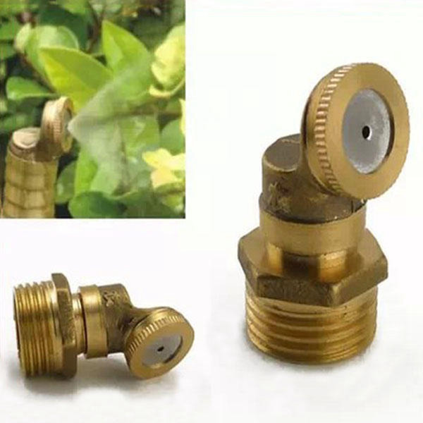 best selling Brass Agricultural Mist Spray Nozzle Garden Irrigation System - single nozzle