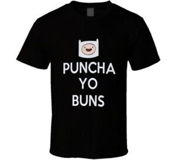 Puncha Yo Buns Drôle T-shirt